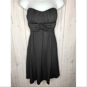 Speechless Juniors Sz Small Black Strapless Dress